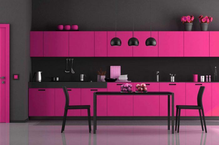 keuken-roze